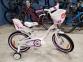 Велосипед VNC 16 Miss 1619-FA-WP , 22см бело-розовый 1
