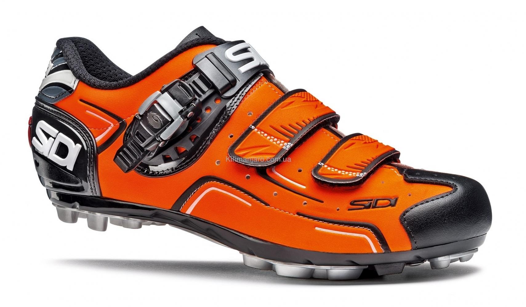 Велотуфли МТБ Sidi Buvel Orange Fluo Black (CBUVEL)