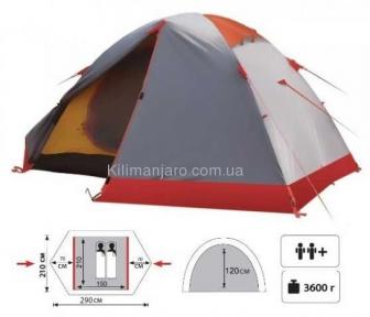 Экспедиционная палатка Tramp Peak 2