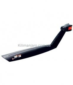 Крыло заднее 26 SKS X-Tra-Dry матерчатый хомут на подседел быстросъемное без регул. черный