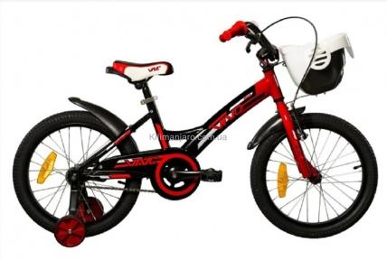 Велосипед VNC 16 Wave 1619-GA-RB, 22см красно-черный