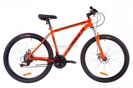 Велосипед 27.5 Formula THOR 1.0 AM 14G  DD  рама-19 Al оранжево-черный с бирюзовым   2019