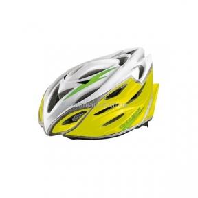 Шлем EXUSTAR BHR104-1 22 отверстия, регулятор, желтый