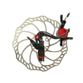 Тормоз дисковый гидравлический Magura MT8,  крепления тормоза Post Mount 6\, ротор Storm SL 203 мм