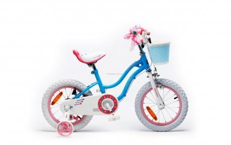 Велосипед RoyalBaby STAR GIRL 12, синий