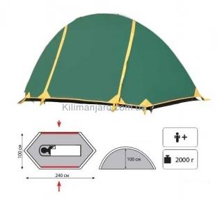 Универсальная палатка Tramp Bicycle light
