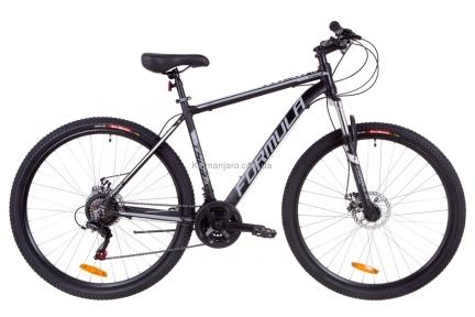 Велосипед 29 Formula THOR 1.0 AM 14G  DD  рама-20 Al черно-серый с белым (м) 2019
