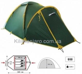 Универсальная палатка Tramp Space 3