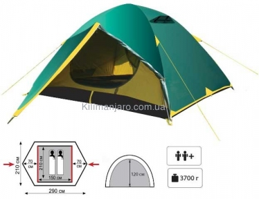 Универсальная палатка Tramp Nishe 2