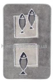 spirella Коврик в ванную Spirella ANDROS серый 55х85 см 10,08198