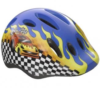 Шлем подростковый Lazer Max + гоночная машина