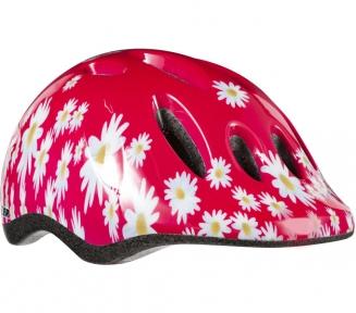Шлем подростковый Lazer Max + розовый с цветами