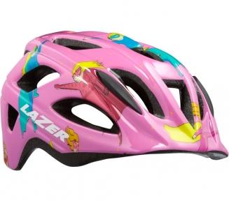 Шлем детский Lazer P'nut розовый  супердевочка