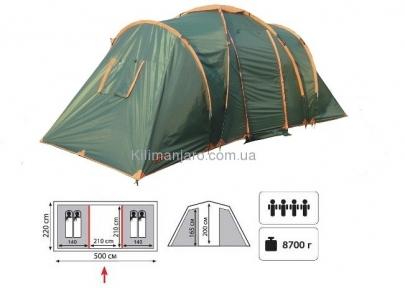 Палатка TOTEM Hurone вместимостью 4