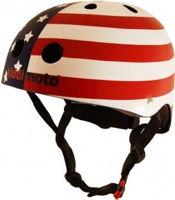 Шлем детский Kiddi Moto флаг USA