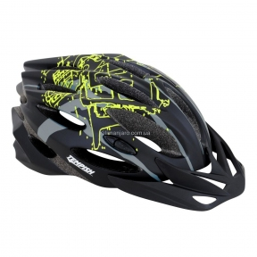 Шлем Tempish STYLE, черно -зеленый