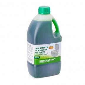 Жидкость для биотуалетов (для верхнего бака) Кемпинг