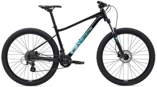 Велосипед 27.5 Marin WILDCAT TRAIL WFG 3 (2021) black/teal
