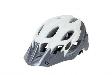 Шлем Green Cycle Enduro бело-серый