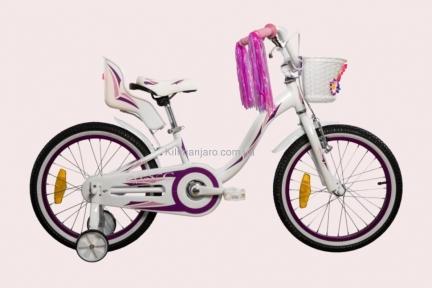 Велосипед VNC  20 Miss, 2019-FA-WP,  30см, розово-фиолетовый