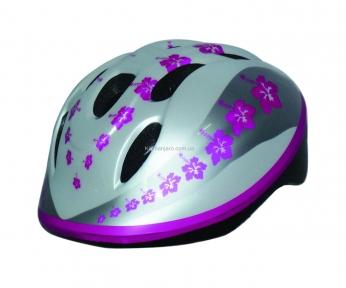 Шлем детский BELLELLI PINK LEAVES (звезда), размер M