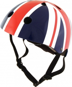 Шлем детский Kiddi Moto британский флаг