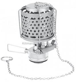 Лампа газовая с металлическим плафоном с пьезоподжигом,  Tramp Lamp TRG-014
