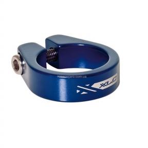 Зажим для подседельной трубы XLC PC-B05,  Ø34,9 мм, синий