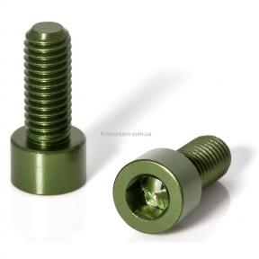 Болты крепления флягодержателя 2шт. комплект, зеленый