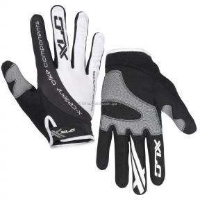 Перчатки велосипедные XLC Mercury, черно-белые