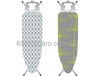 Сменный чехол для гладильной доски Eurogold Metallic Decors DC48F3M 130х48/132х52 см