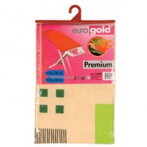 Сменный чехол для гладильной доски Eurogold С34F3 110х30/114х34см