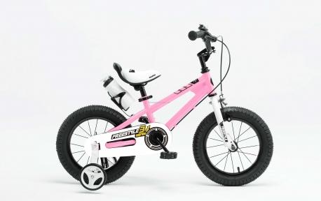 Велосипед RoyalBaby FREESTYLE 14, розовый