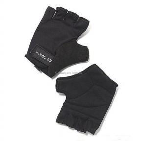 Перчатки велосипедные Saturn XLC, черные