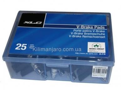 Тормозные колодки V-Brake XLC , 25 пар, 70 мм.