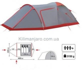 Экспедиционная палатка Tramp Cave