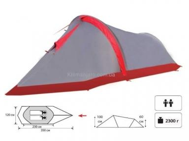Экспедиционная палатка Tramp Bike 2