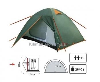 Палатка TOTEM Tepee вместимостью 2