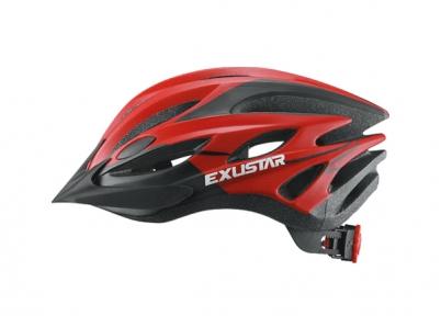 Шлем EXUSTAR BHM107 красный, размер M/L 58-62 см