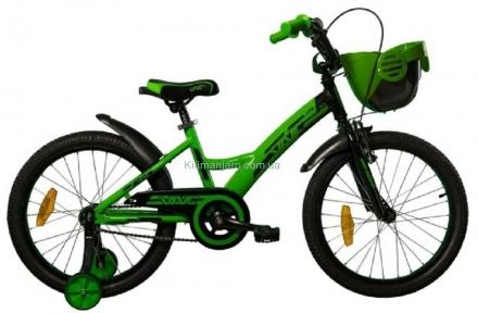 Велосипед VNC 16 Wave black/green 1619-GA-BG, 22см черно-зеленый