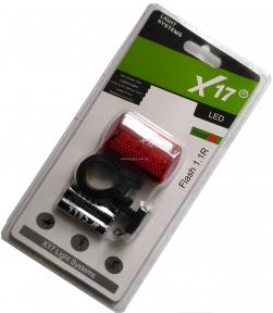 Мигалка X17 Flash 1.1R 5LED красная