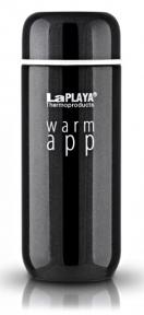 Термокружка 0,2 л LaPlaya Warm App черная