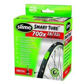 Антипрокольная камера с жидкостью 700 x 28 - 35 PRESTA, Slime