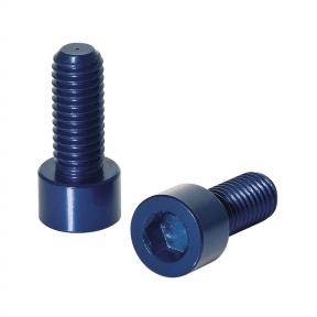Болты крепления флягодержателя 2шт. комплект, голубой
