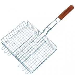 Двойная решетка-корзина для гриля  29*23/CMZ058
