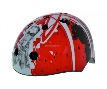 Шлем детский BELLELLI ARTISTIK RED (граффити красный)