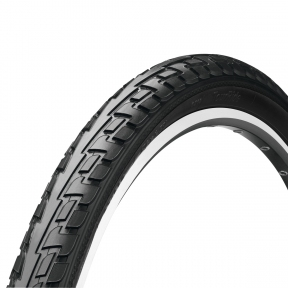 Покрышка Continental RIDE Tour Reflex, 28, 700 x 42C (40C), 28 x 1.60, 42-622, Wire, ExtraPuncture Belt, черный