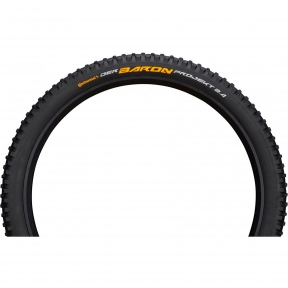Покрышка Continental Der Baron Projekt 26x2.4, Фолдинг, Tubeless, ProTection Apex, Skin