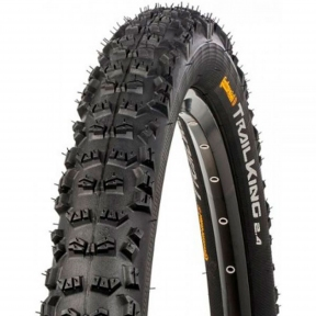 Покрышка Continental Trail King 2.2, 27.5x2.20, 55-584, Foldable, PureGrip, Performance, Skin, черный