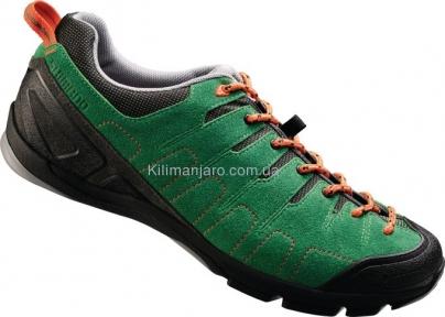 Велообувь SHIMANO CT80R зеленые, SPD